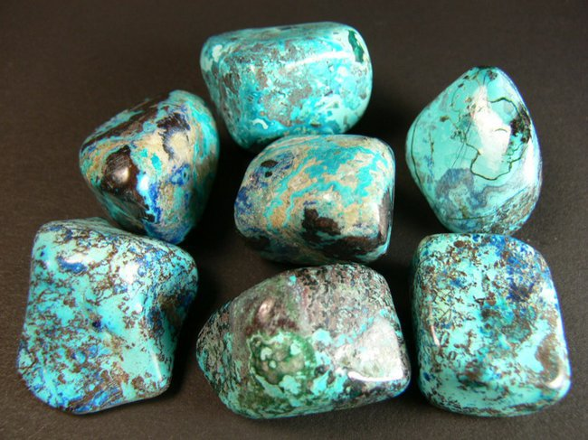 chrysocolle howlite Cristal Oeuf