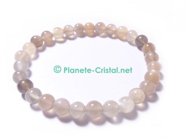 pierre de lune bracelet femme