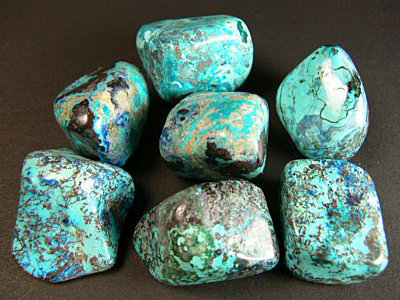 Chrysocolle pierre