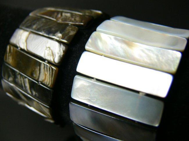 Bracelet nacre réversible